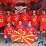 Стаменковски дел од македонската селекција на Европскиот куп во Ајндховен