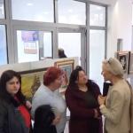 Со ликовна изложба продолжуваат културните активности во М.Каменица
