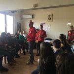 """""""Црвен крст во акција - промоција на хумани вредности"""" со младите од Делчево"""