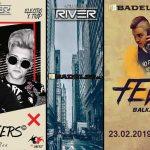 Саботни промоции во Club RIVER и супер забава со The JOKERS&Dj FEVERR!