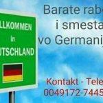 Одлични можности за сместување и вработување во Германија!