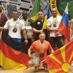 Стаменковски со два златни медали се враќа од Одеса, Украина
