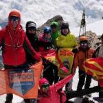 "Знамето на ПСК ""Голак"" се развеа на Јулијските Алпи"