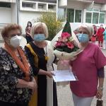 Татјана Спасевска - најдобра медицинска сестра во Делчево за изминатата година