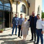 Средба на кандидатот за градоначалник Николчо Стојменовски со почесниот конзул на Хрватска, Вита Хузјан