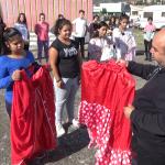 Викенд работилница со младите од Делчево за запознавање со ромската народна носија