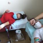 Младите најактивни на денешната крводарителска акција во Делчево